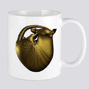 Sleeping Golden Armadillo Mug