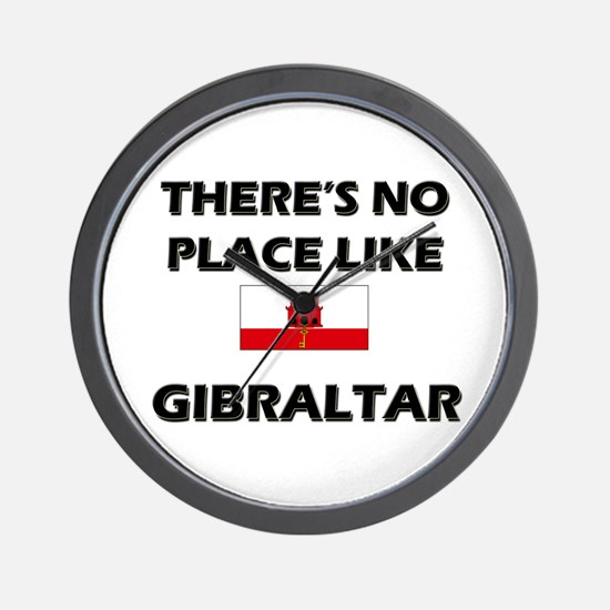 There Is No Place Like Gibraltar Wall Clock