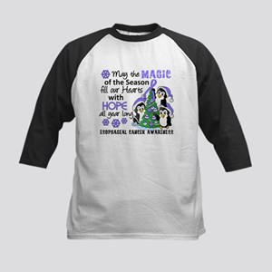 Holiday Penguins Esophageal Cancer Kids Baseball J