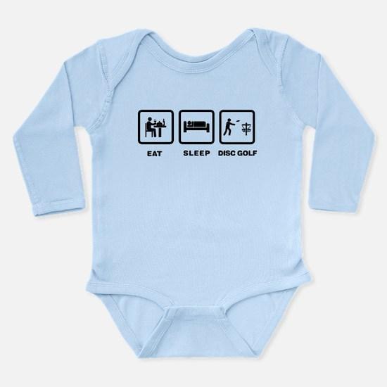 Disc Golf Long Sleeve Infant Bodysuit