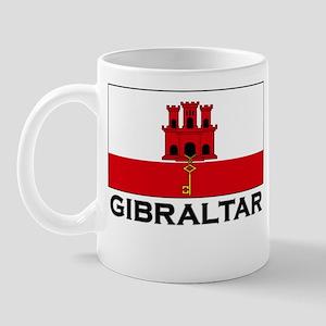 Gibraltar Flag Merchandise Mug