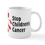 Stop Children's Cancer Logo Mug