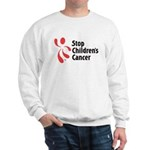 Stop Children's Cancer Logo Sweatshirt