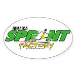 Jamaica Sprint Factory Oval Sticker