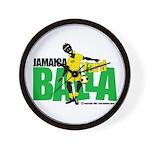 Jamaica Yard Balla 2 Wall Clock