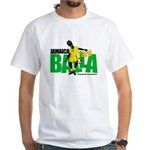 Jamaica Yard Balla 2 White T-Shirt