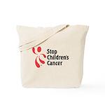 Stop Children's Cancer Logo Tote Bag