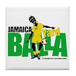 Jamaica Yard Balla 2 Tile Coaster