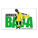Jamaica Yard Balla 2 Sticker (Rect.)