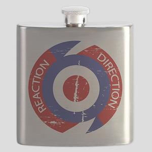 Reaction direction retro mod design Flask