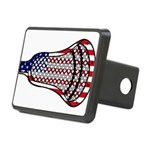 Lacrosse FlagHead Rectangular Hitch Cover