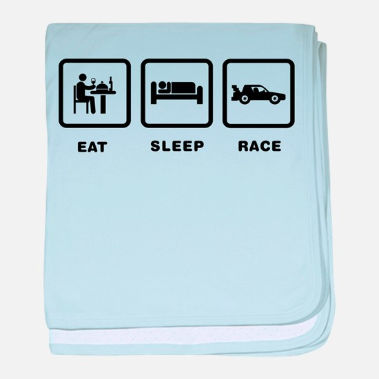 Car Racing baby blanket