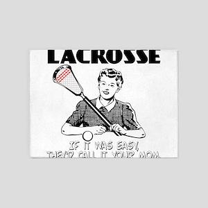 Lacrosse YourMom 5'x7'Area Rug