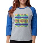 TILE BOX Womens Baseball Tee