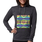 TILE BOX Womens Hooded Shirt