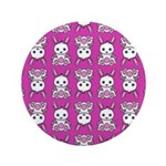 Kawaii Pink Bunny Pattern 3.5