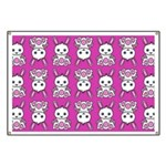 Kawaii Pink Bunny Pattern Banner