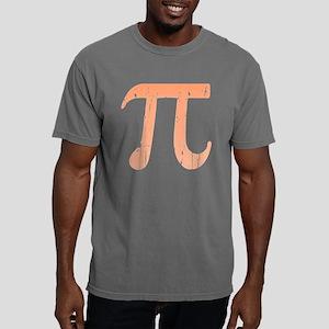 Distressed Pi Mens Comfort Colors Shirt