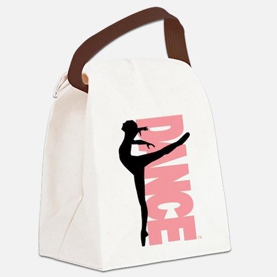 Beautiful Dance Figure Canvas Lunch Bag