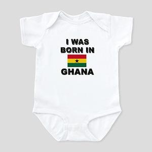 I Was Born In Ghana Infant Bodysuit