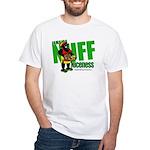 Jamaica Nuff Niceness White T-Shirt