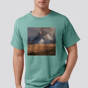 Fire in Yellowstone Mens Comfort Colors Shirt