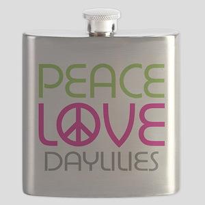 flowerdaylily-01 Flask