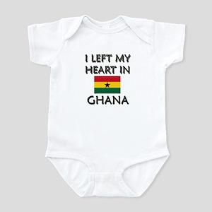 I Left My Heart In Ghana Infant Bodysuit
