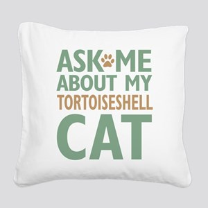 cattort-01 Square Canvas Pillow
