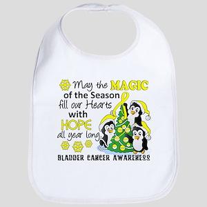 Holiday Penguins Bladder Cancer Bib
