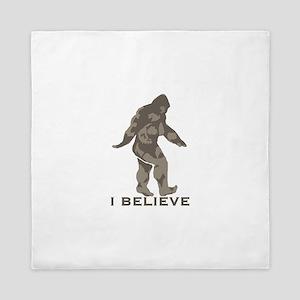 I believe in the Bigfoot Queen Duvet
