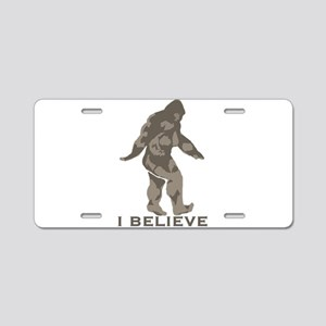 I believe in the Bigfoot Aluminum License Plate