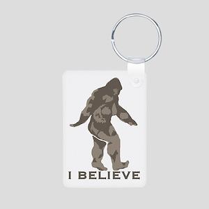 I believe in the Bigfoot Aluminum Photo Keychain