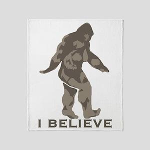I believe in the Bigfoot Throw Blanket