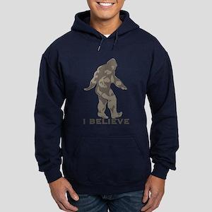 I believe in the Bigfoot Hoodie (dark)