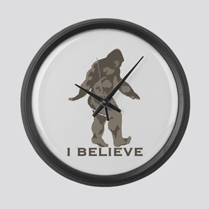 I believe in the Bigfoot Large Wall Clock