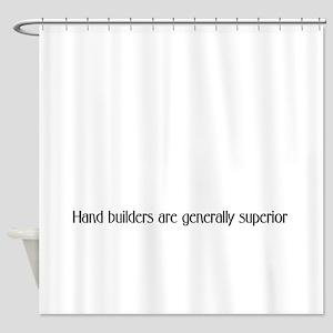 Handbuilders superior Shower Curtain