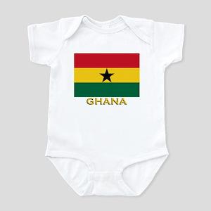 Ghana Flag Gear Infant Bodysuit