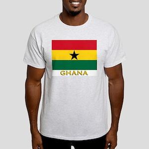 Ghana Flag Gear Ash Grey T-Shirt
