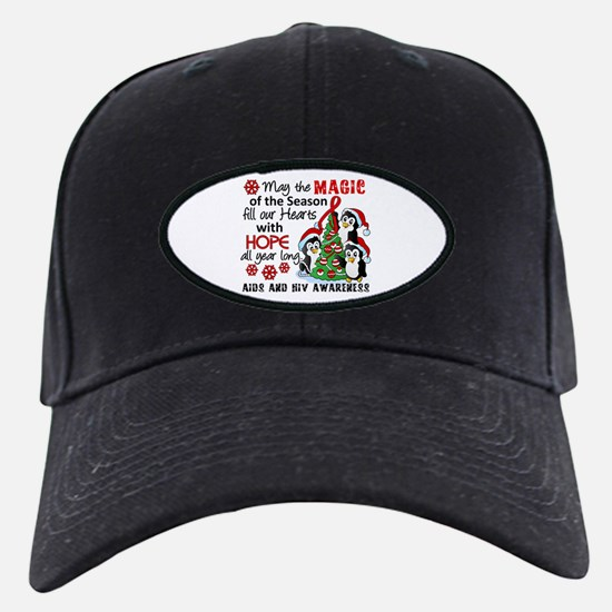 Holiday Penguins AIDS and HIV Baseball Hat