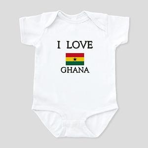 I Love Ghana Infant Bodysuit