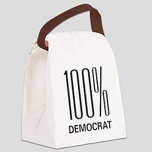 100democrat Canvas Lunch Bag