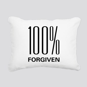 100forgive Rectangular Canvas Pillow