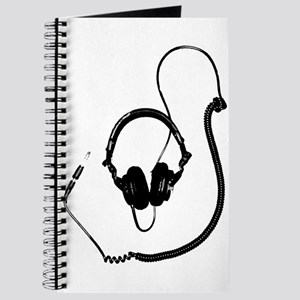 Unique Dj Headphones T Shirt Journal
