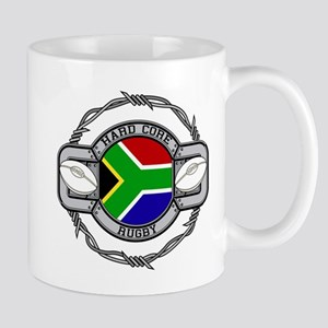 Hard Core South Africa Rugby Mug