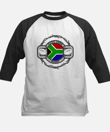 Hard Core South Africa Rugby Kids Baseball Jersey