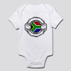 Hard Core South Africa Rugby Infant Bodysuit