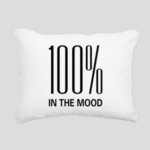 100inthemood Rectangular Canvas Pillow