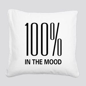 100inthemood Square Canvas Pillow