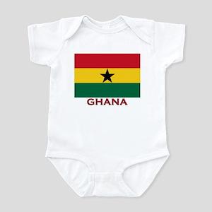 Ghana Flag Merchandise Infant Bodysuit